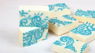 How to Make Soap with an Impression Mat