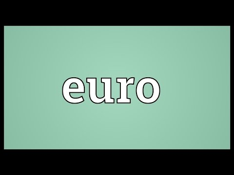 Euro Meaning