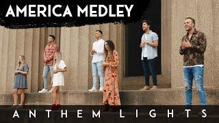 AMERICA MEDLEY 2021 | Anthem Lights & Charlotte Ave