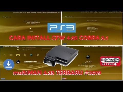 CARA UPDATE PS3 CFW 4.85 Dan MultiMAN 4.85 NEW 2019/2020