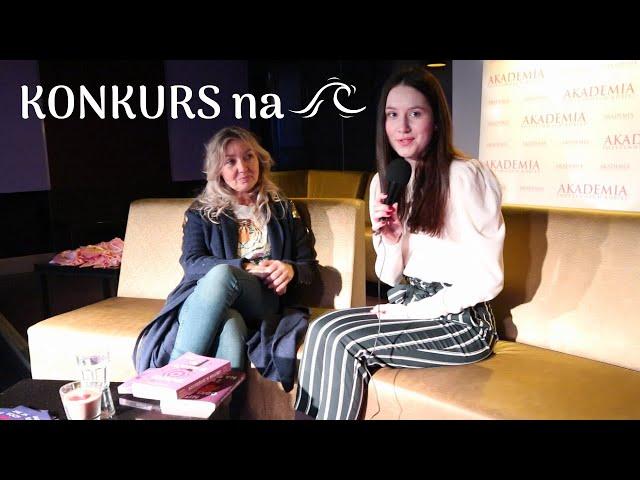 KONKURS i wywiad z autorka bestsellerów Joanną Godecką