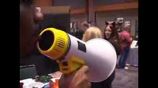 Scary Black Man with a Megaphone