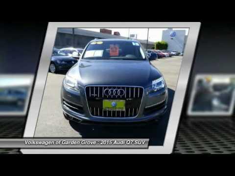 2015 Audi Q7 Garden Grove CA 18037