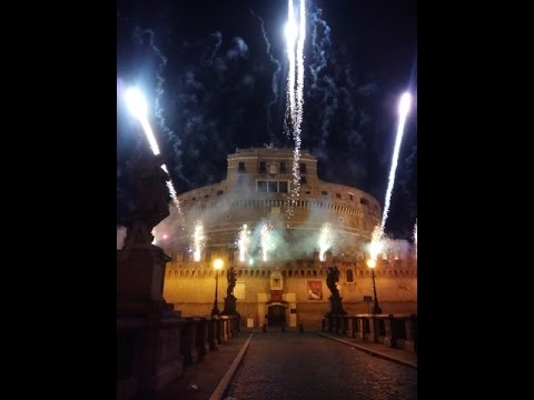 Girandola Castel Sant'Angelo 2015   il Film