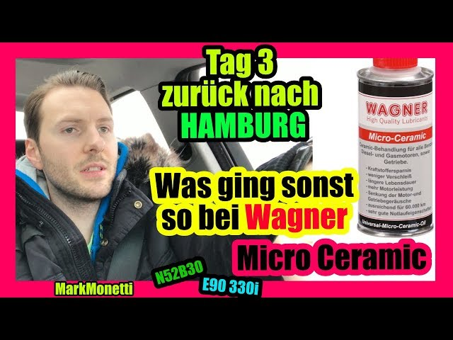 Tag 2 Was ist passiert? | Ab nach Hamburg | Eindruck Micro-Ceramic | MarkMonetti