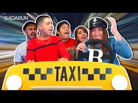 El Taxi de los YouTubers | Imitando personajes