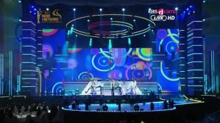 120119 KBS 21st Seoul Music Awards B1A4-Beautiful Target + OK