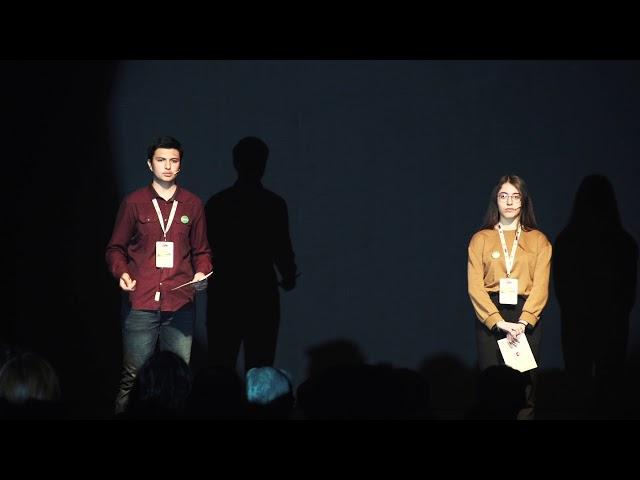 """Çağla Demirel ve Bartu Badem'in """"1.Yerel İklim Eylemi Uluslararası Konferansı"""" açılış konuşması"""
