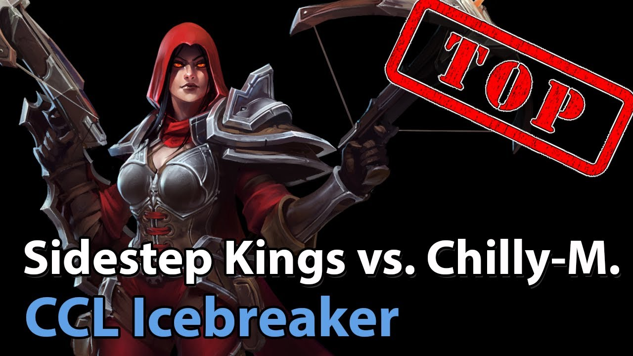 ► Sidestep Kings vs. Chilly Mountain - Icebreaker Cup - Heroes of the Storm Esports