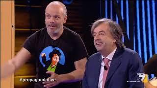 Propaganda Live - Dr. Rasta vs Roberto Burioni