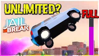 UNLIMITED ROCKET FUEL GLITCH?? JAILBREAK ROBLOX MYTH BUSTING PART 1 (ROBLOX)