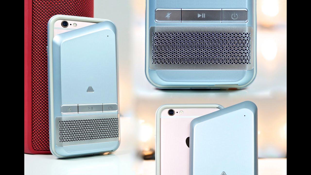 Amazing Portable Speaker Case for iPhone 6S/6! - Togok Net