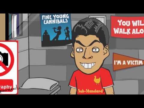 LUIS SUAREZ BITE 🎬Silence of the Lambs Remake🎬! by 442oons (football cartoon parody)