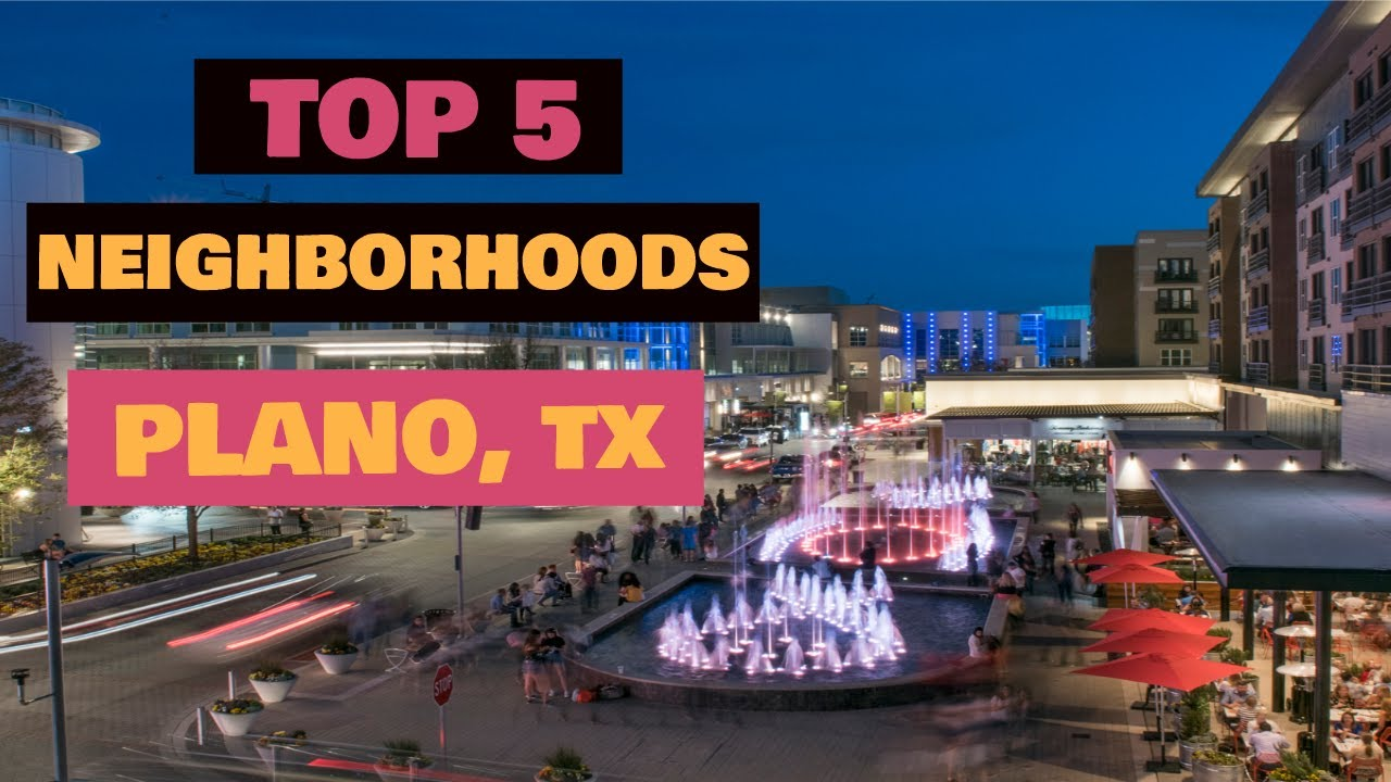 Download Plano Texas - TOP 5 Best Plano Neighborhoods to Live In - Moving to Plano