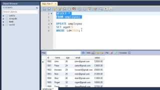 SQL Tutorial - 21: The UPDATE Query