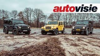 Drie legendarische terreinauto
