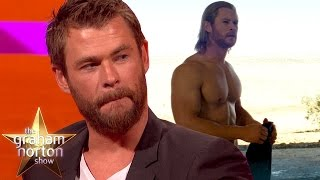 Chris Hemsworth Tells A Dirty 'Thor' Joke - The Graham Norton Show
