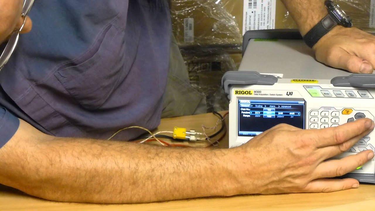 New RIGOL M301 makes Multi-Channel Volts/Temperature Monitoring easy
