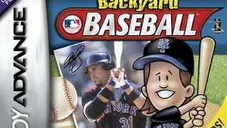 CGRundertow BACKYARD BASEBALL for Game Boy Advance Video Game Review