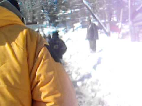 SNOW CUTTER IN GULMARG KASHMIR
