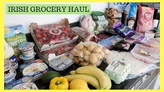 GROCERY HAUL WITH PRICES || IRISH GROCERY HAUL || TESCO, DUNNES & LIDL