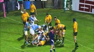 Reviví el try  de Los Pumas contra Australia