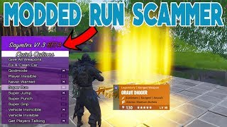 Modded Run SCAMMER SCAMMED HIMSELF (Scammer Gets Scammed) Fortnite Save The World