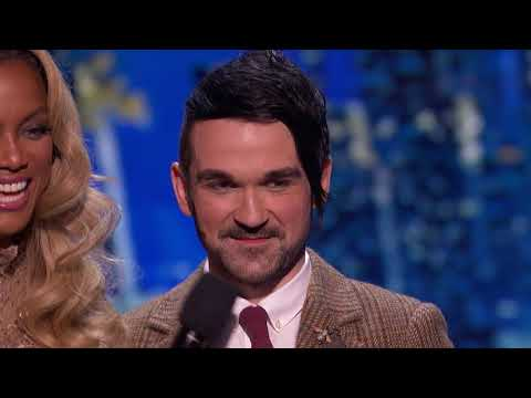 America's Got Talent 2017 Colin Cloud Judges' Comments Semi-Finals S12E21