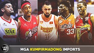 Na-ECHAPWERA si Balkman? | PBA Commisioner's Cup Imports | Part 1