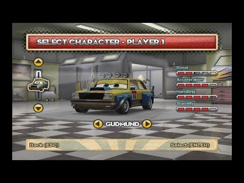 Cars: Mater-National: Gudmund