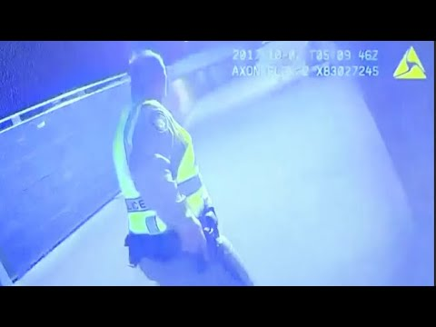 Police release bodycam footage from officer at Las Vegas mass shooting