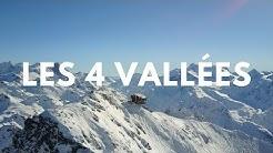 [4K] Drone Footage / La plus grande station de ski de Suisse