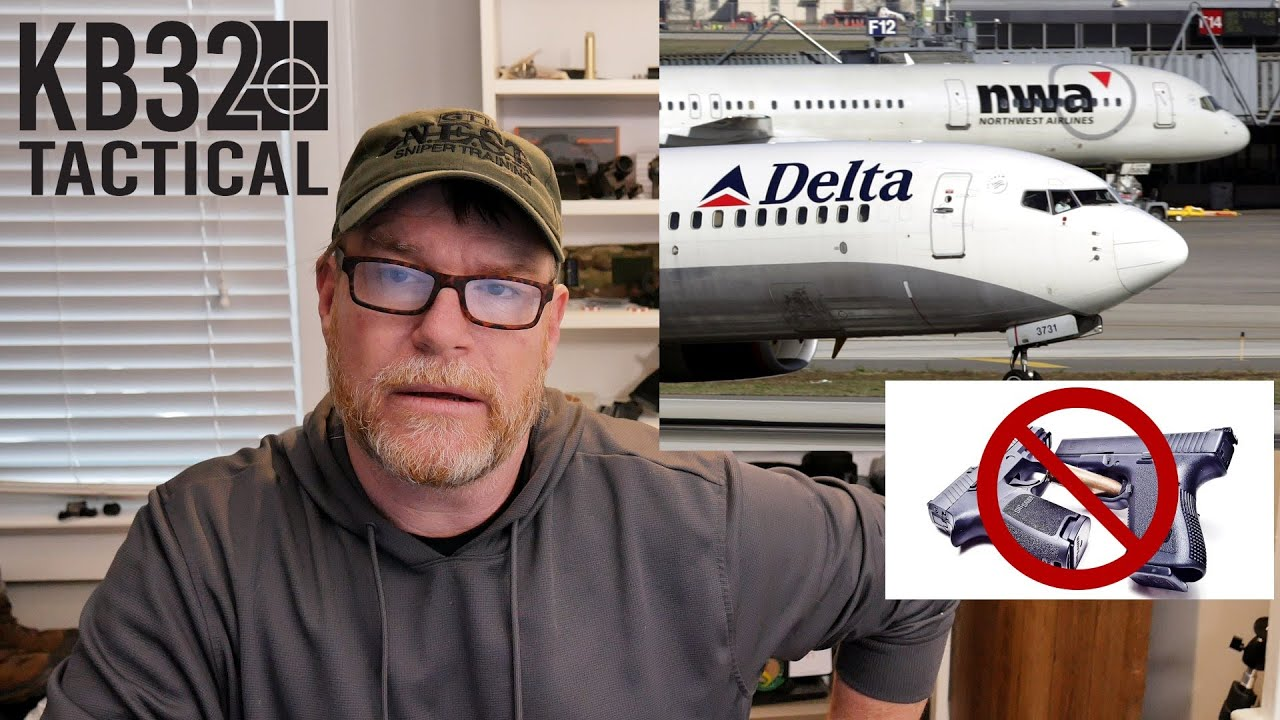 Delta Airlines Bans Guns on DC Flights!  No Checked Luggage for You