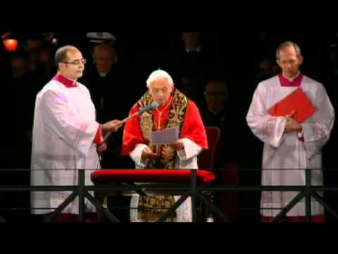 Pope Benedict's Meditation at Way of the Cross - April 6, 2012