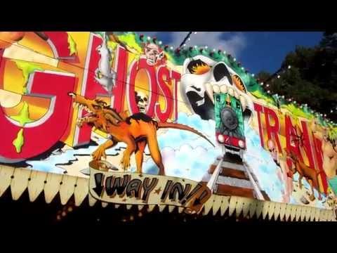 Ghost Train Carters Steam Fair Onride Pov 1080p Youtube