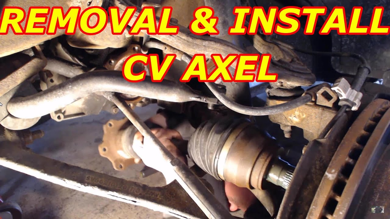 how to replace a chevy tahoe cv axle