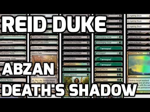 Channel Reid  Abzan Death's Shadow Deck Tech & Match 1