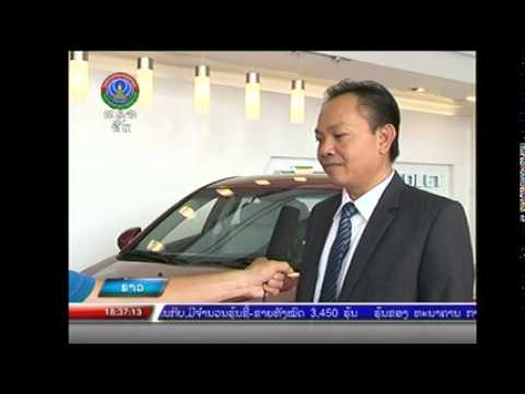 News on Lao television Launching Amazing New 2015 CRUZE