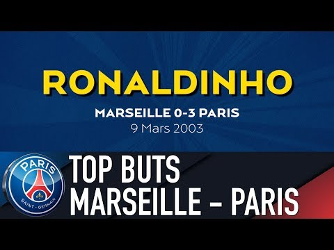 TOP BUTS MARSEILLE vs PARIS SAINT-GERMAIN