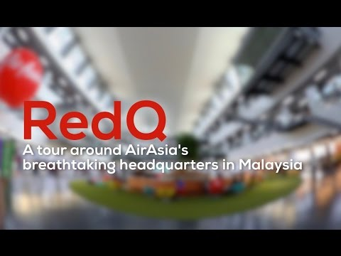 RedQ - A tour around AirAsia's breathtaking headquarters!