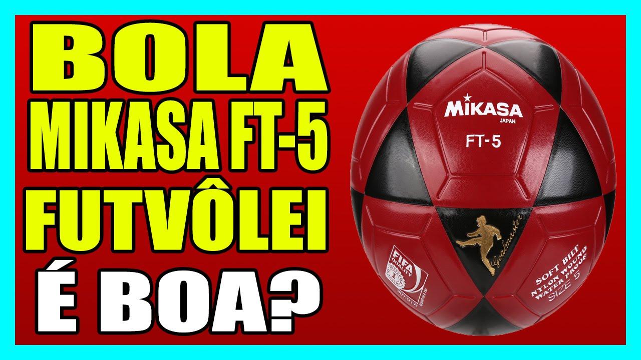 cb2c29d0ed BOLA MIKASA FT-5 FUTVÔLEI - Bola