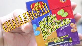 BEAN BOOZLED CHALLENGE! Super Gross Jelly Belly Beans! (MAY CONTAIN VOMIT)
