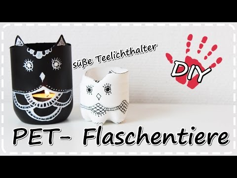 Upcycling Alter Flaschen Tumblr Style Led Lichterflaschen