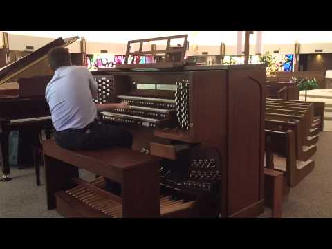 Holy God We Praise Thy Name on Allen Organ