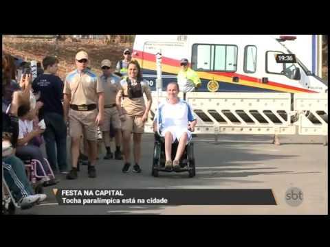 Tocha Paralímpica passa por Brasília
