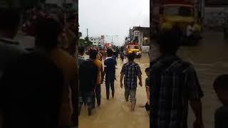 মৌলভী বাজার কুসুম বাগ বন্যা কবলিত এলাকা 2018