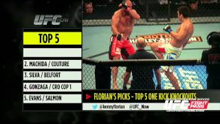 UFC Now Ep. 223: Top 5 One Kick Knockouts