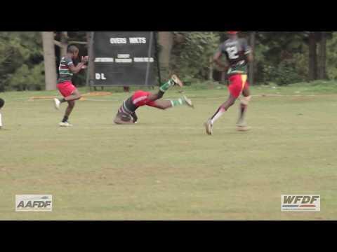 2017 Uganda v Kenya WFDF Test Match