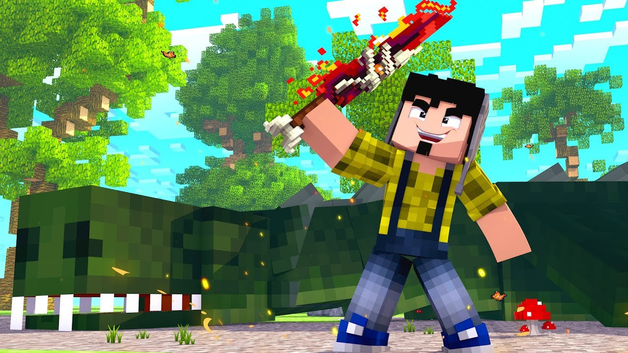 Minecraft: ESPADA LENDÁRIA DO MEGA DRAGÃO !!! - A LENDA DO DRAGÃO Ep.28 ‹ CORUJ4 ›