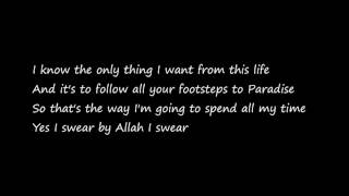 Maher Zain - Peace Be Upon You (lyrics)